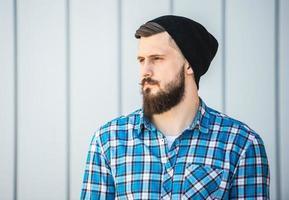Bearded man photo