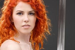 redhead warrior photo