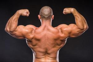 Strong man photo