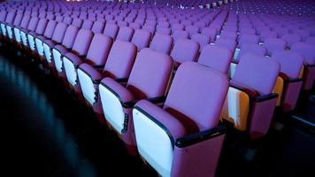 asiento de teatro foto