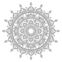 Circle Mandala for Coloring