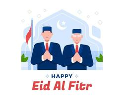The President And Vice President Of Indonesia Eid Al Fitr