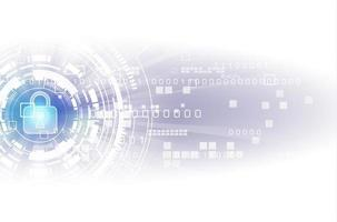 Security digital technology concept