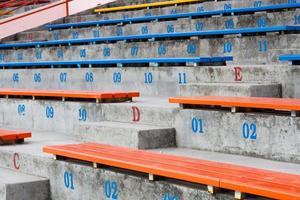 Stadium seating place