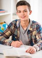Schoolboy photo