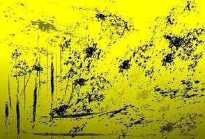fundo amarelo angustiado vetor
