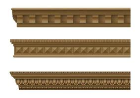 Classical cornices for the walls of buildings