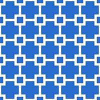 vetor de padrão de grade sem costura azul