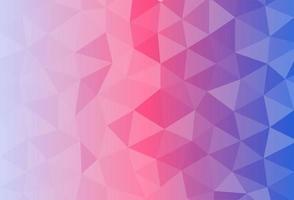 Hintergrundtapete mit Polygonen in Verlaufsfarben