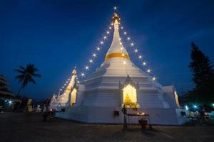 Wat Prathat Doi Kong Mu , Mueang Mae Hong Son , Thailand.