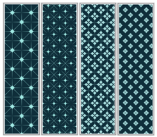 Star Halftone Pattern Set