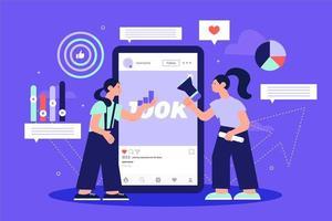 Design der Statistikanalyse für soziale Medien