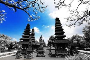 Hinduism temple in Bali Indonesia