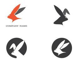 Dark Gray Rabbit Icons