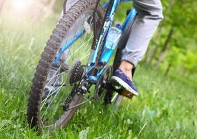 bicycle sport nature