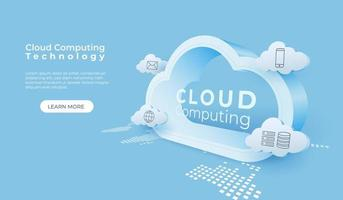 Digital Technology Cloud Computing