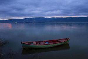 Gölyazı lake Turkey Long exposure photo