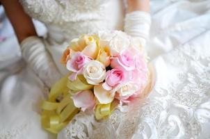 Wedding flowers photo