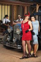 Serious 1920s Hispanic Women
