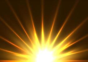 Bright starburst design vector