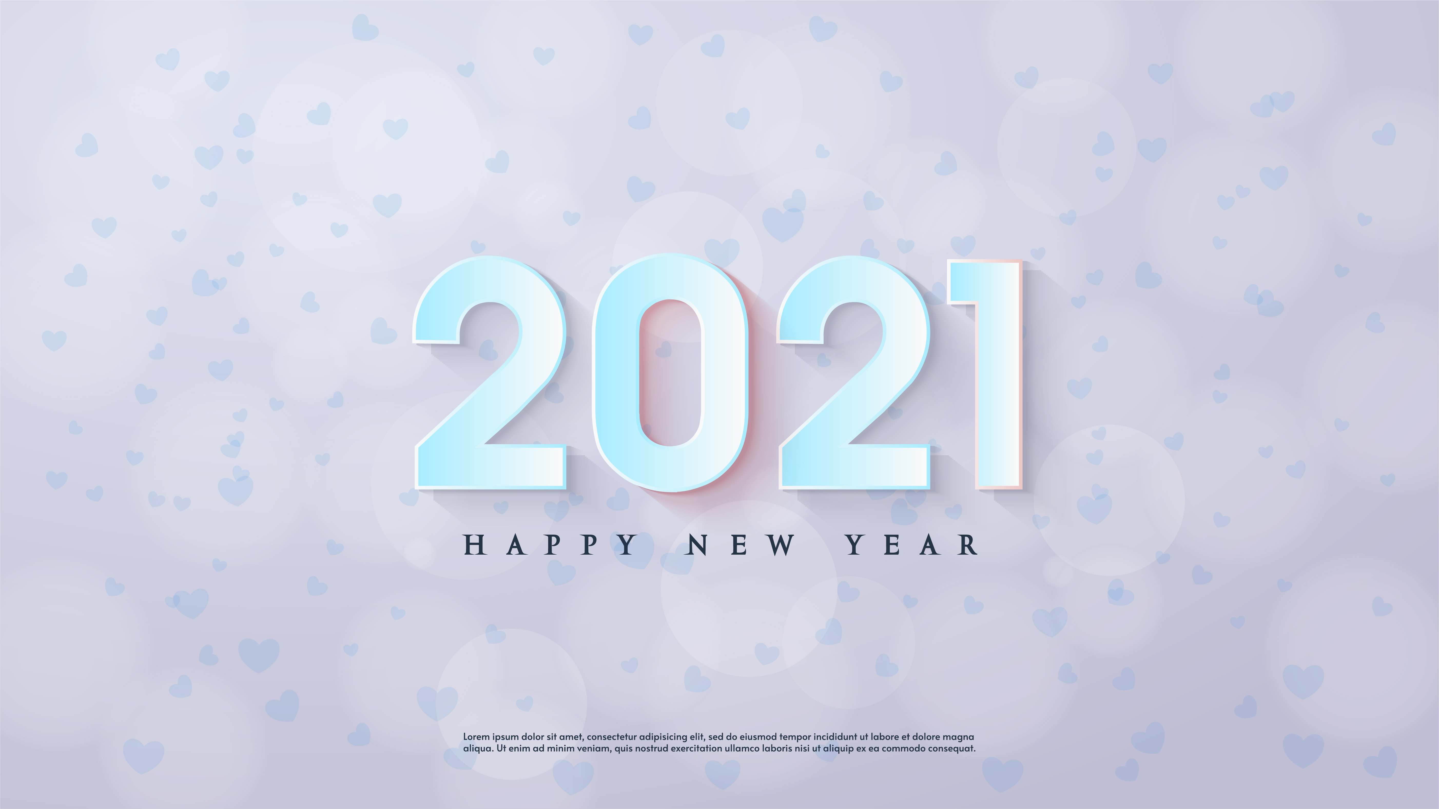 happy new year background 2021 with 3d blue numbers download free vectors clipart graphics vector art vecteezy