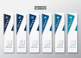 conjunto de banner vertical de negócios