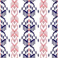 patrón transparente rojo y azul ikat