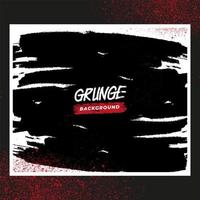 marco blanco grunge con salpicaduras rojas