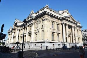 bolsa de valores de bruselas, bruselas, bélgica foto