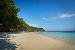 Koh Rok beach in summer season