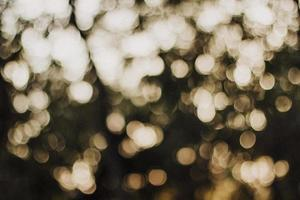 White bokeh background