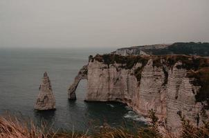 Falaises d'Etretat in France  photo