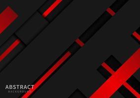diseño abstracto con formas diagonales rojas y negras