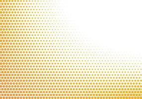 Abstract Yellow and White Dots Background vector