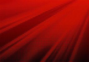 Abstract Red Halftone Speed Pattern vector
