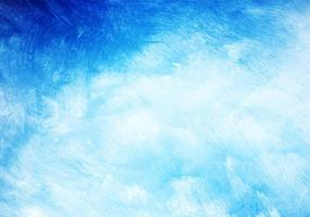 Modern blue watercolor texture background vector