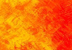Abstract Red, Yellow Paint Brushstroke Texture Background