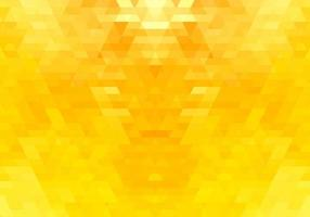 Abstract yellow triangle shapes background vector