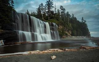 Tsusiat Falls  in Canada photo