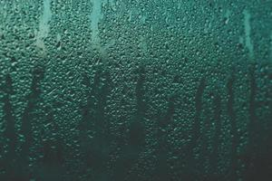 humedad sobre el vidrio foto