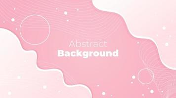 Abstract Pink Fluid Design vector