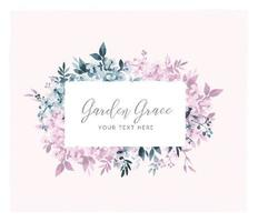 Soft Lilac Watercolor Sign vector