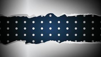 corte de papel diseño de fondo de metal realista vector