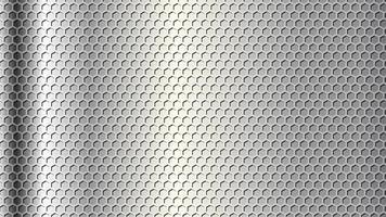 diseño de fondo de metal realista vector