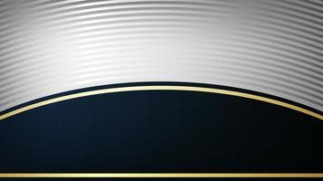 Luxury Realistic metal background design vector