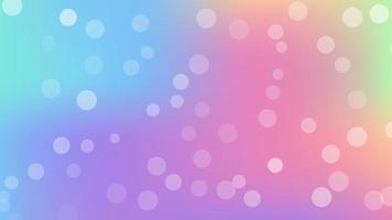Abstract blur bokeh banner