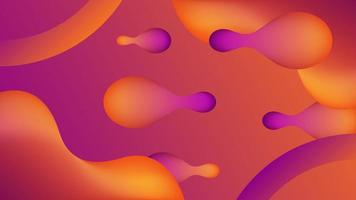 Liquid futuristic background vector