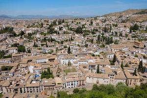 Albayzin community in Granada, Spain photo