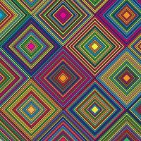 Aztec themed diamond  pattern  vector