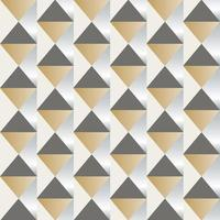 Retro seamless diamond tile pattern vector